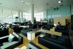Barcelona Airport - Colomer Lounge