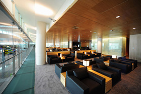Barcelona Airport - Miró Lounge